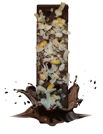 BU205<br /> Badem<br /> Kokos<br />  Tamna čokolada<br /> &#8212;<br /> Mandula<br /> Kókusz forgács<br /> Étcsokoládé pasztilla<br />
